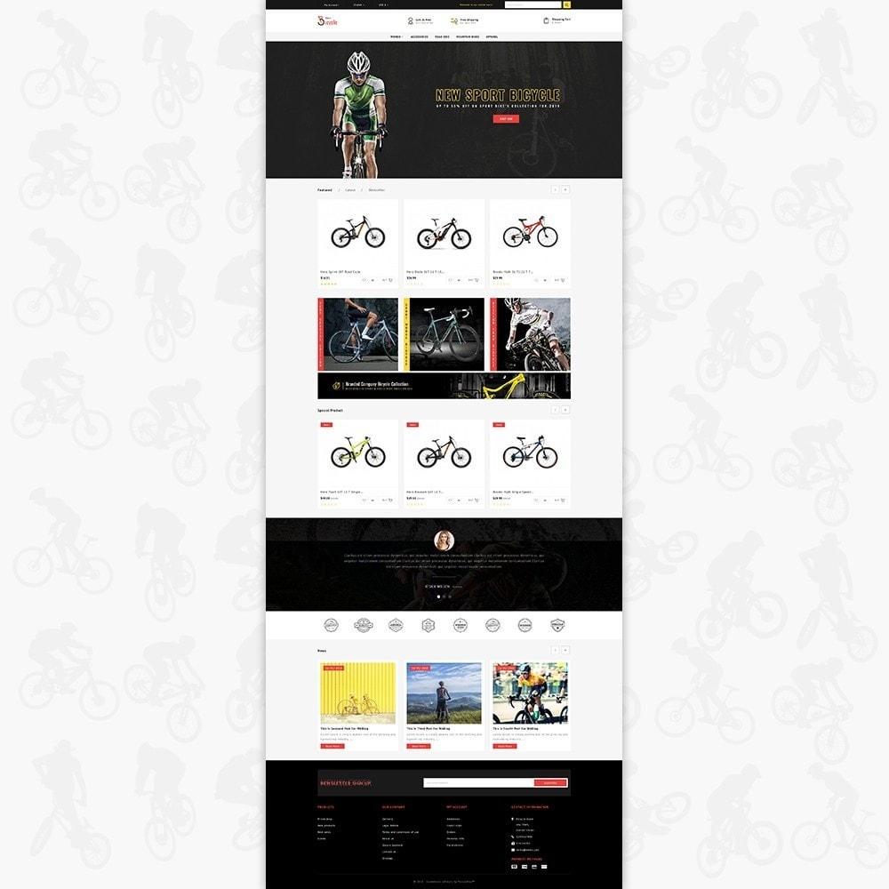 theme - Sport, Rozrywka & Podróże - Bicycle Sports Store - 2