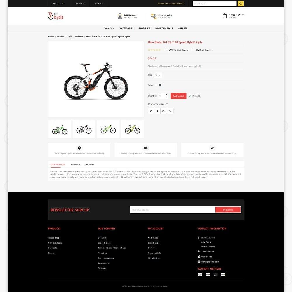 theme - Desporto, Actividades & Viagens - Bicycle Sports Store - 5