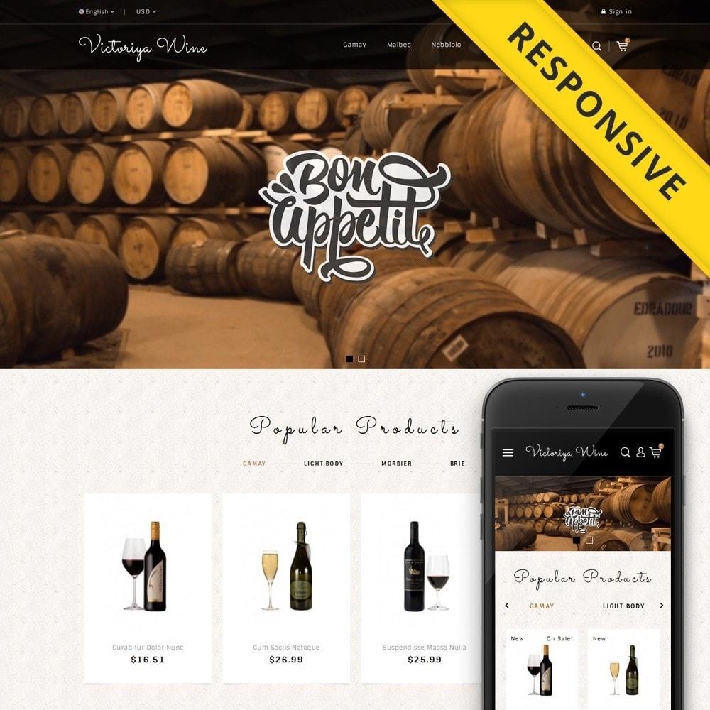 theme - Getränke & Tabak - Victoriya Wine Shop - 1