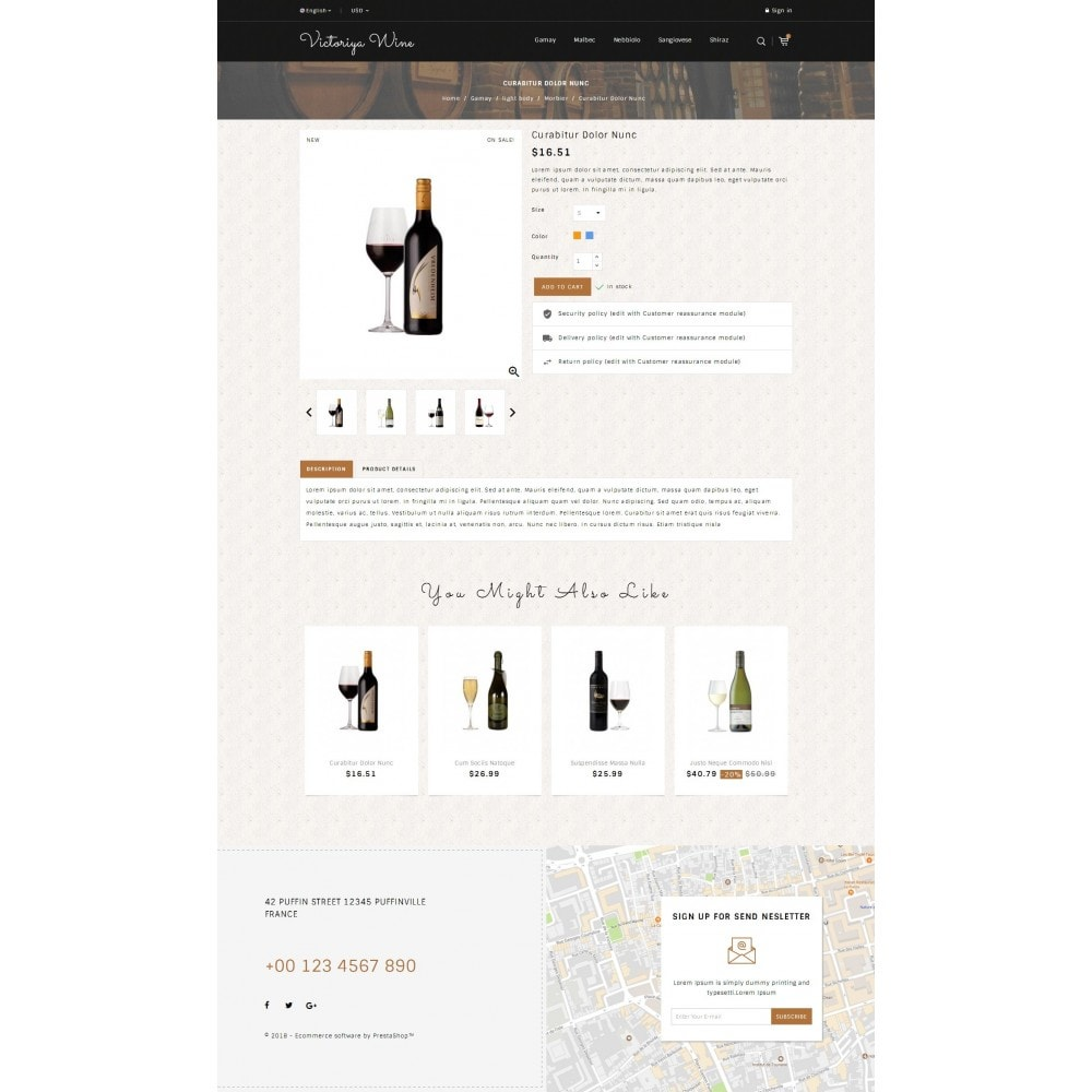 theme - Drink & Wine - Victoriya Wine Shop - 4