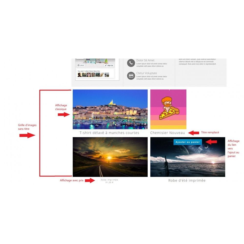 module - Visuels des produits - Grille Image Facile - 4