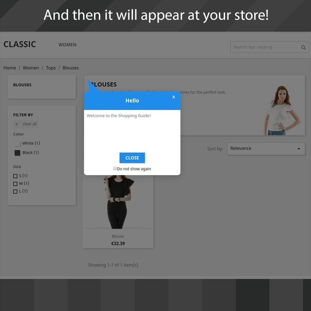 module - Pop-up - Shopping Guide - 4