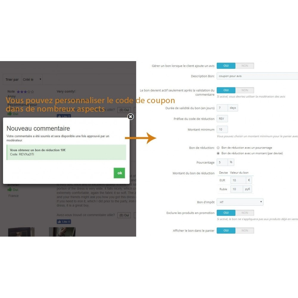 module - Avis clients - Commentaires avancés avec photos + Google rich snippets - 4