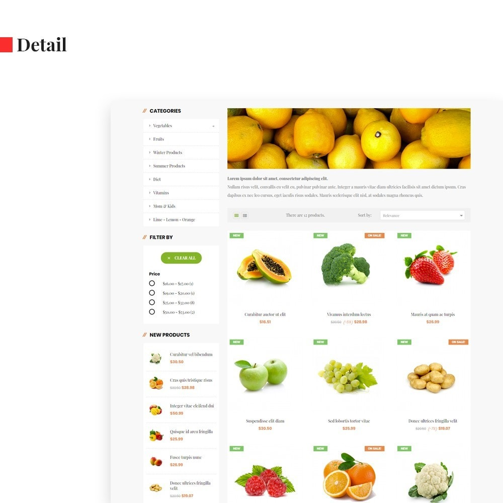 theme - Продовольствие и рестораны - Leo Green  Fresh Food store - 5