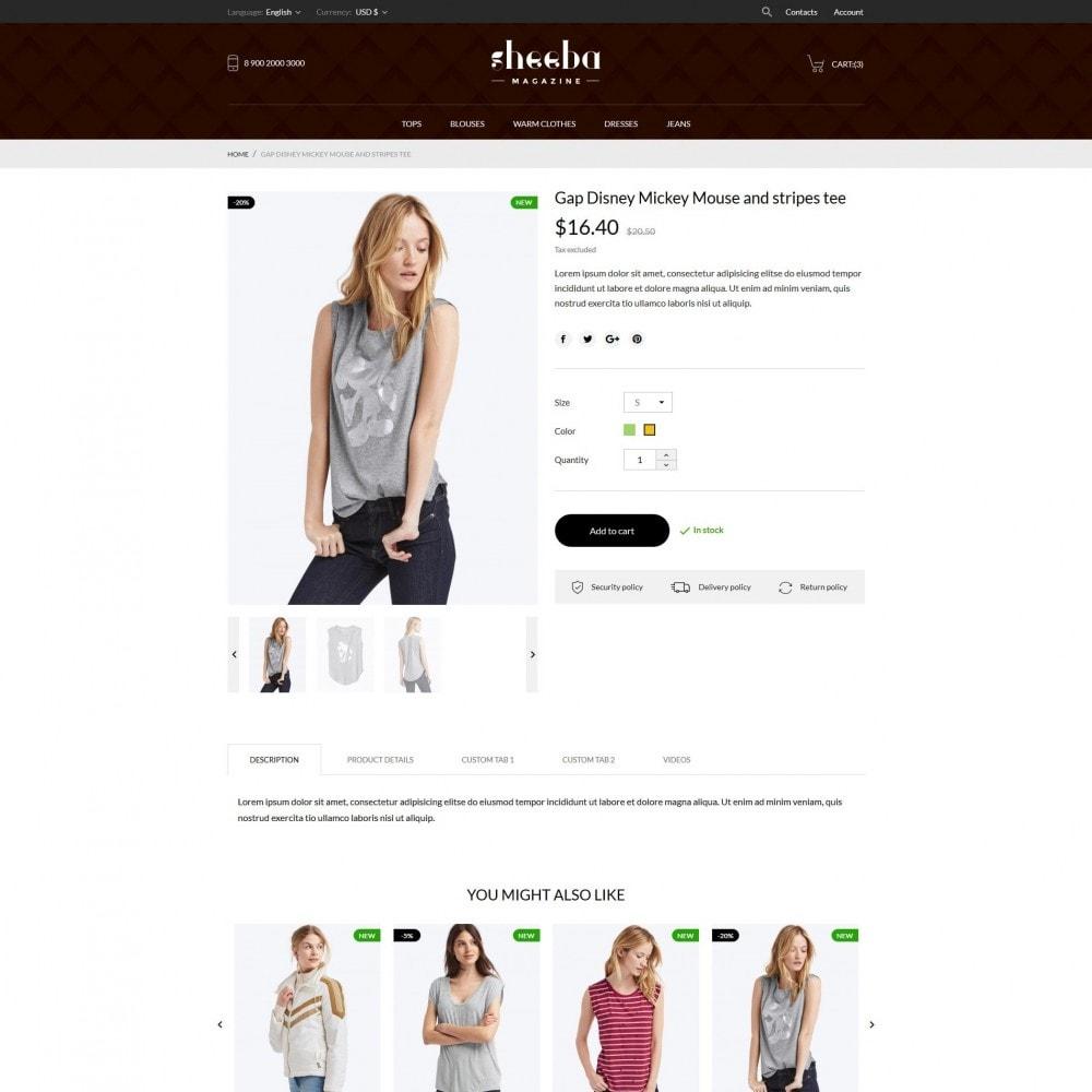 theme - Mode & Chaussures - Sheeba Fashion Store - 7