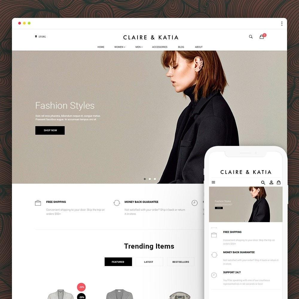 theme - Мода и обувь - Claire & Katia - 1