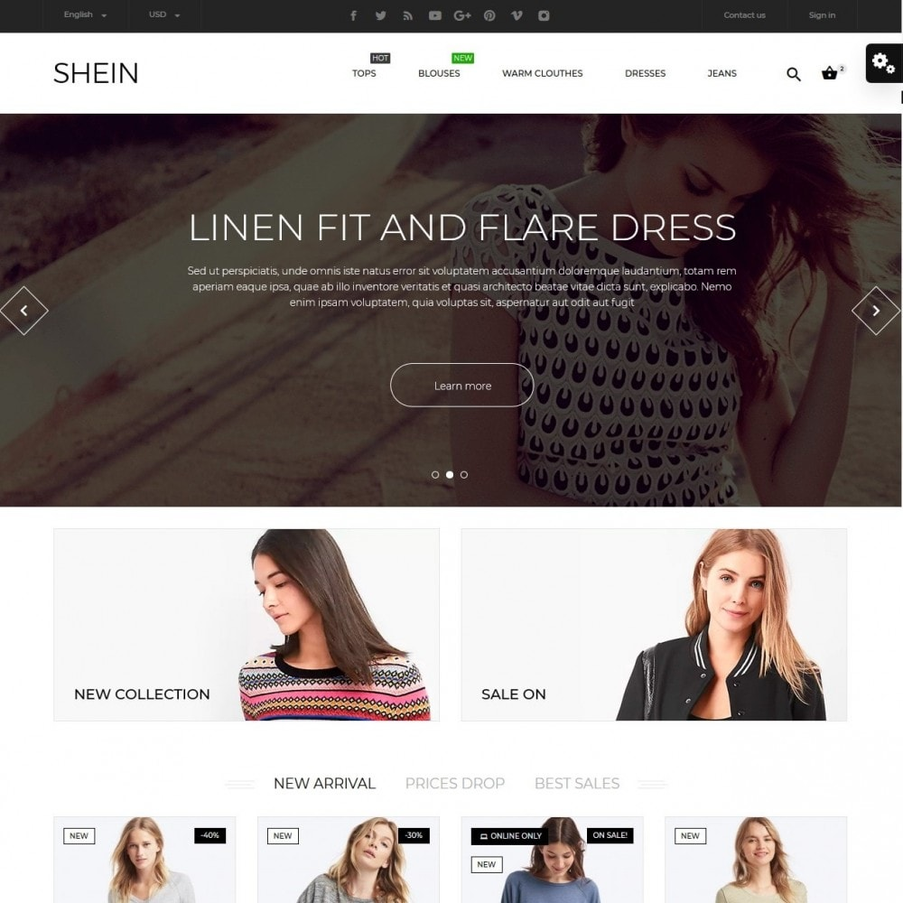 theme - Moda & Obuwie - Shein Fashion Store - 2