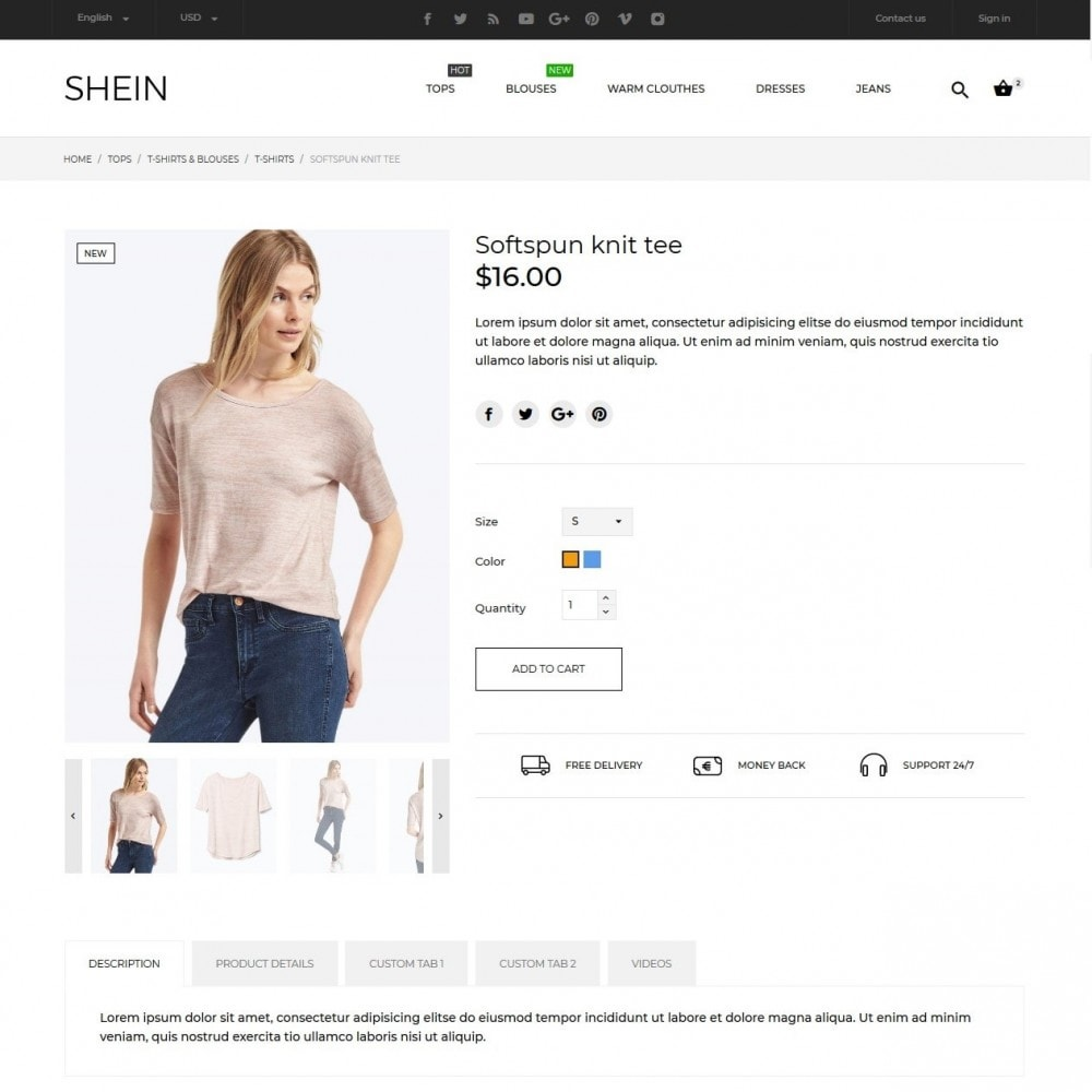 theme - Moda & Obuwie - Shein Fashion Store - 8