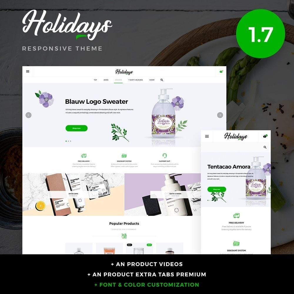 theme - Santé & Beauté - Holidays Cosmetics - 1