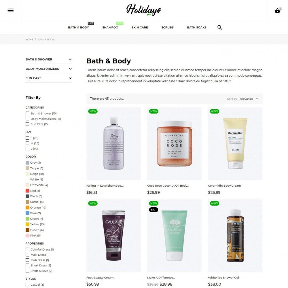 theme - Health & Beauty - Holidays Cosmetics - 5