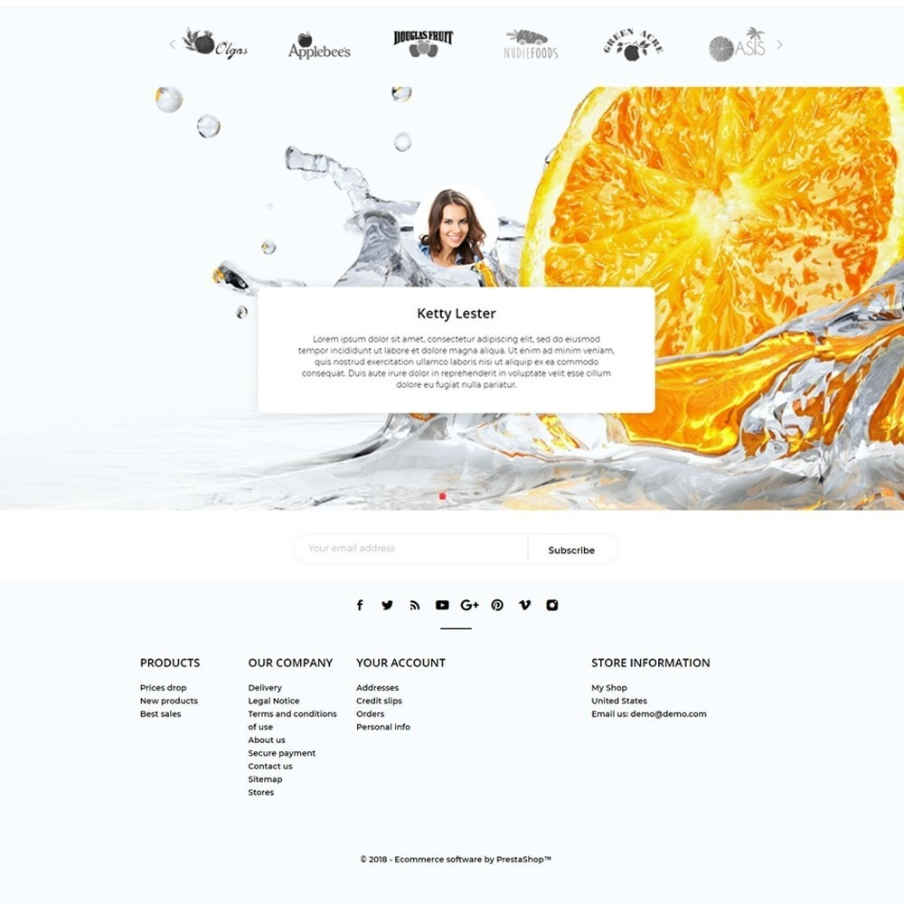 theme - Alimentos & Restaurantes - Fresh - 4