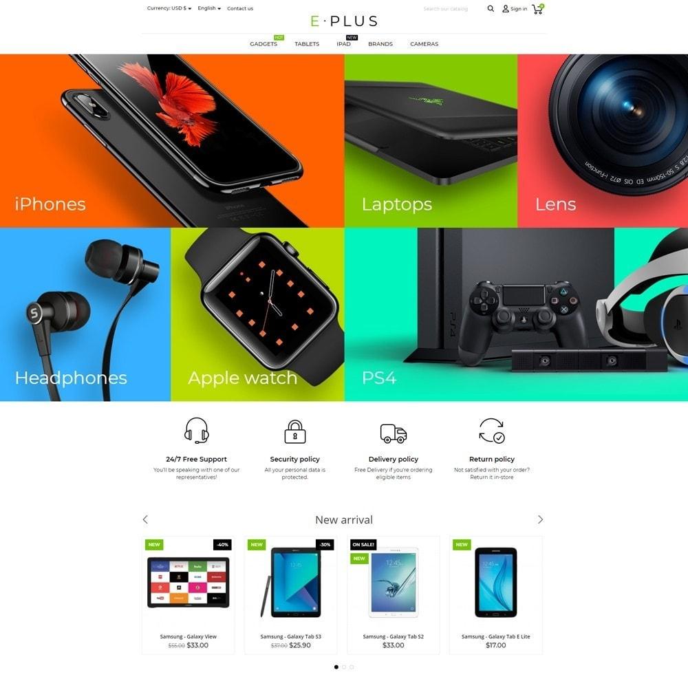 theme - Electrónica e High Tech - E-Plus - 2