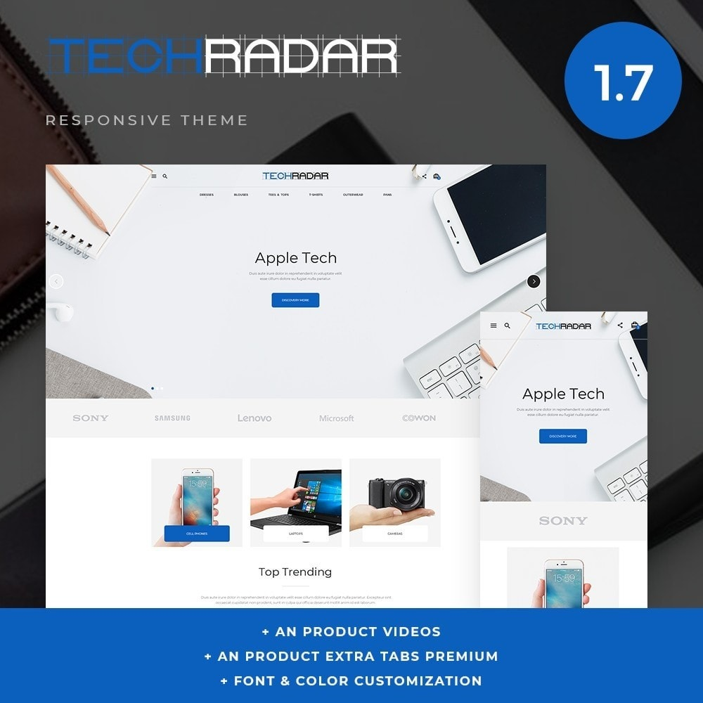theme - Electrónica e High Tech - TechRadar - High-tech Shop - 1