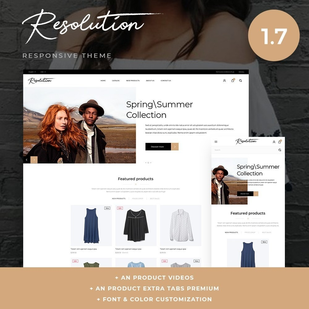 theme - Mode & Schuhe - Resolution Fashion Store - 1