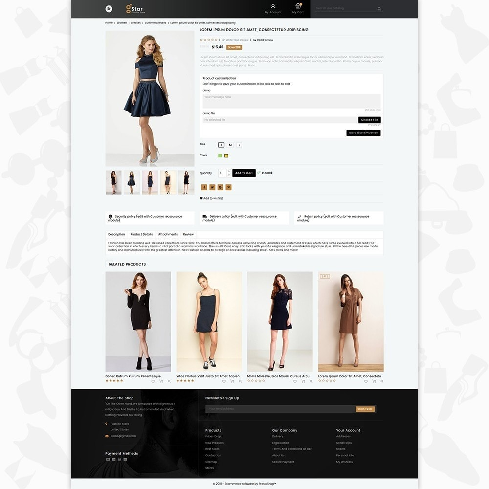 theme - Moda y Calzado - gStar - The Fashion Store - 5
