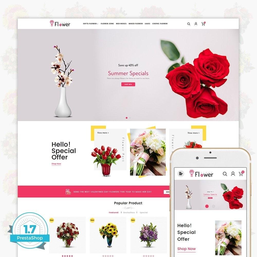 theme - Presentes, Flores & Comemorações - Flower Store - 1