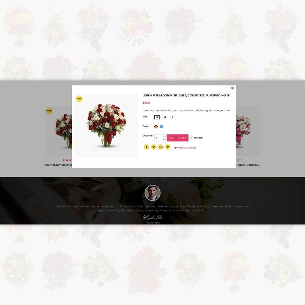 theme - Presentes, Flores & Comemorações - Flower Store - 6
