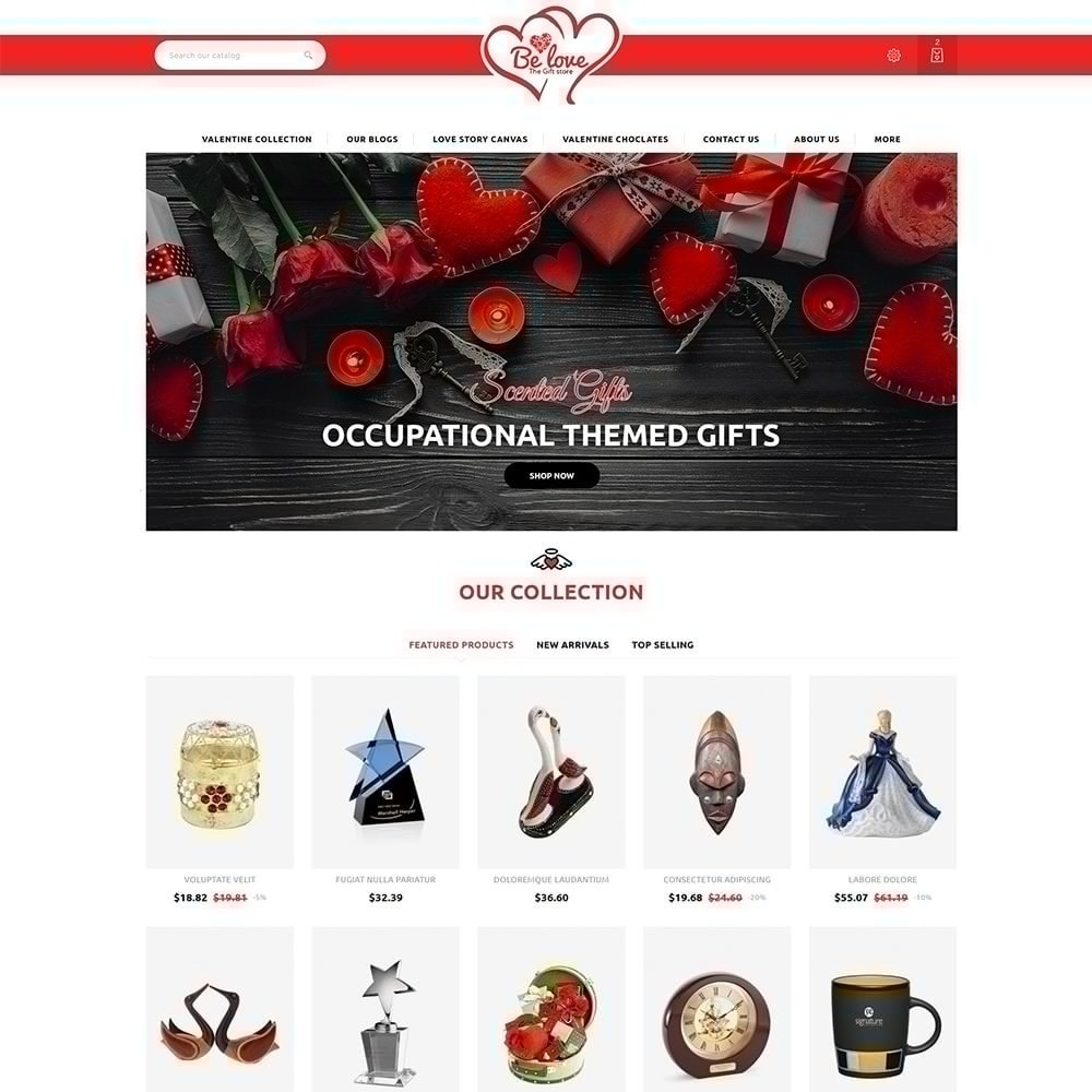 theme - Gifts, Flowers & Celebrations - Belove Valentine Gift Shop - 2