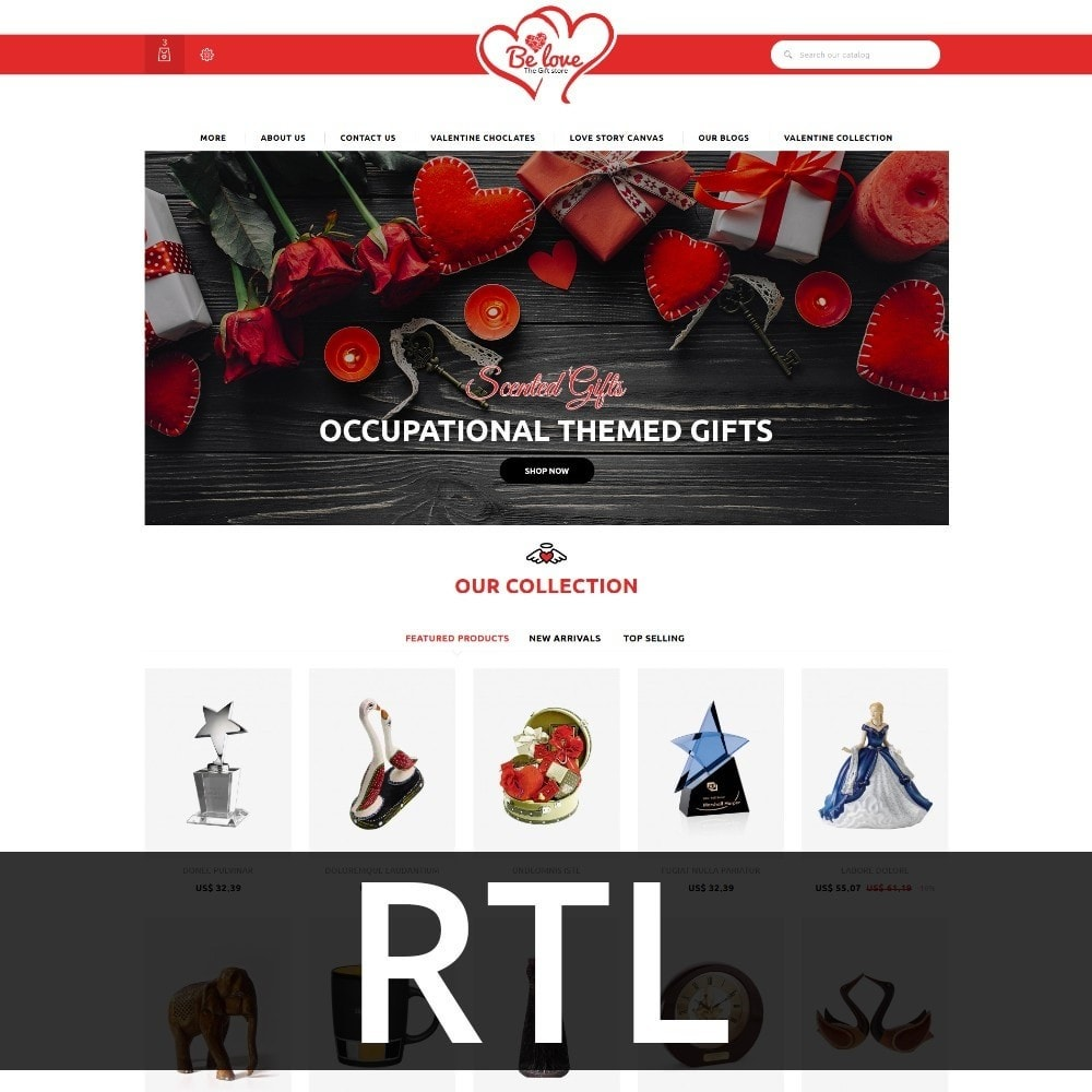 theme - Gifts, Flowers & Celebrations - Belove Valentine Gift Shop - 3