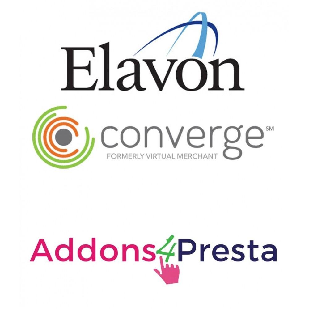module - Оплата банковской картой или с помощью электронного кошелька - Elavon Converge Virtual Payments - 1