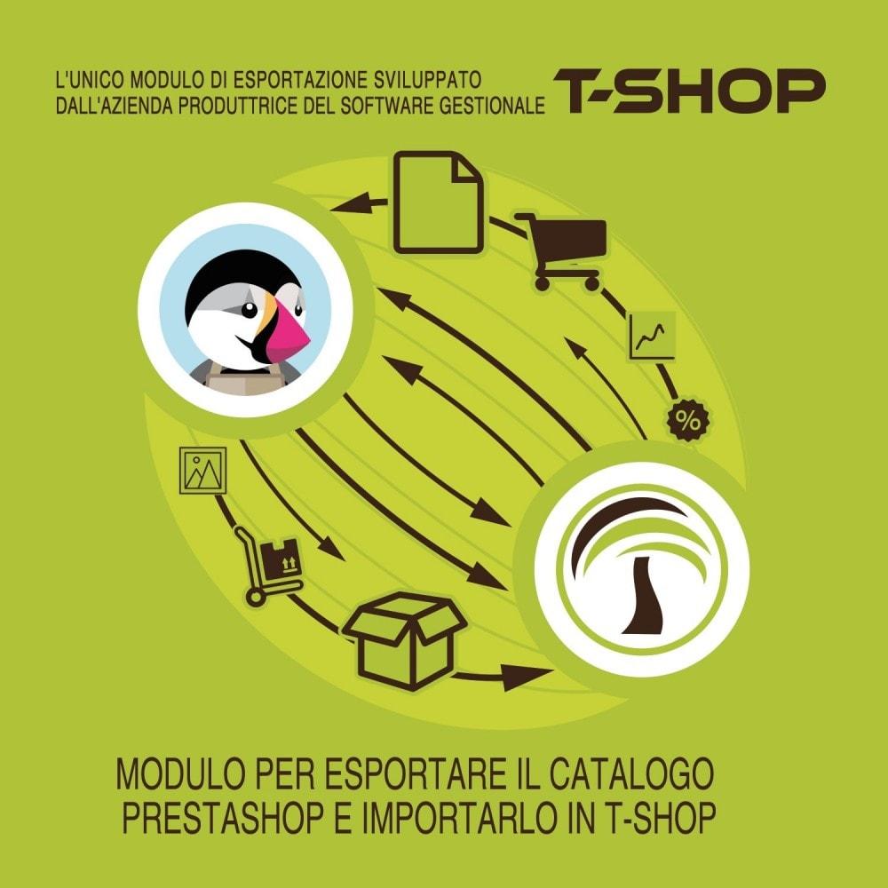 module - Data Migration & Backup - Esporta tutto il catalogo da PrestaShop a T-Shop - 2