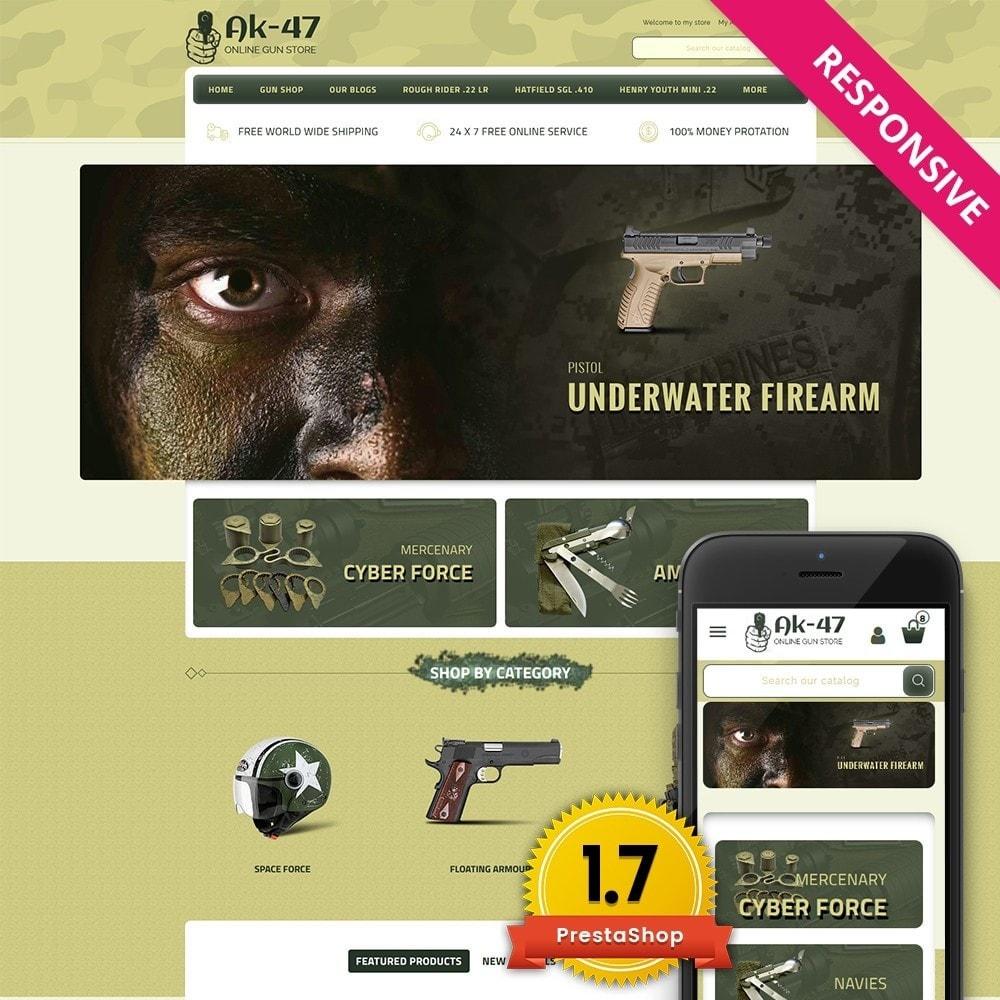 theme - Carros & Motos - AK47 Gun & Tools Store - 1