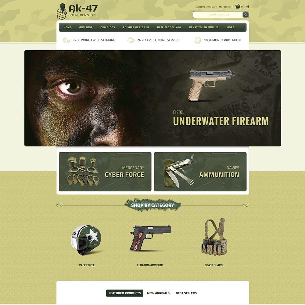 theme - Carros & Motos - AK47 Gun & Tools Store - 2