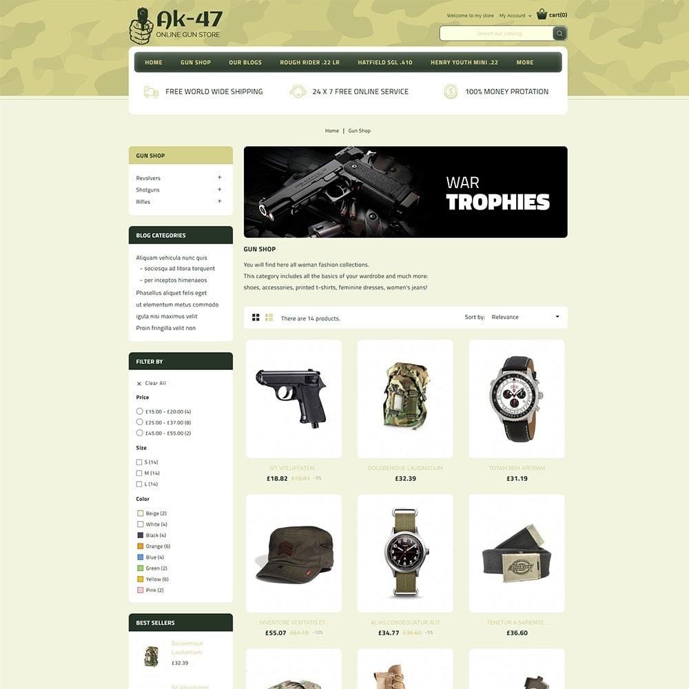 theme - Carros & Motos - AK47 Gun & Tools Store - 4