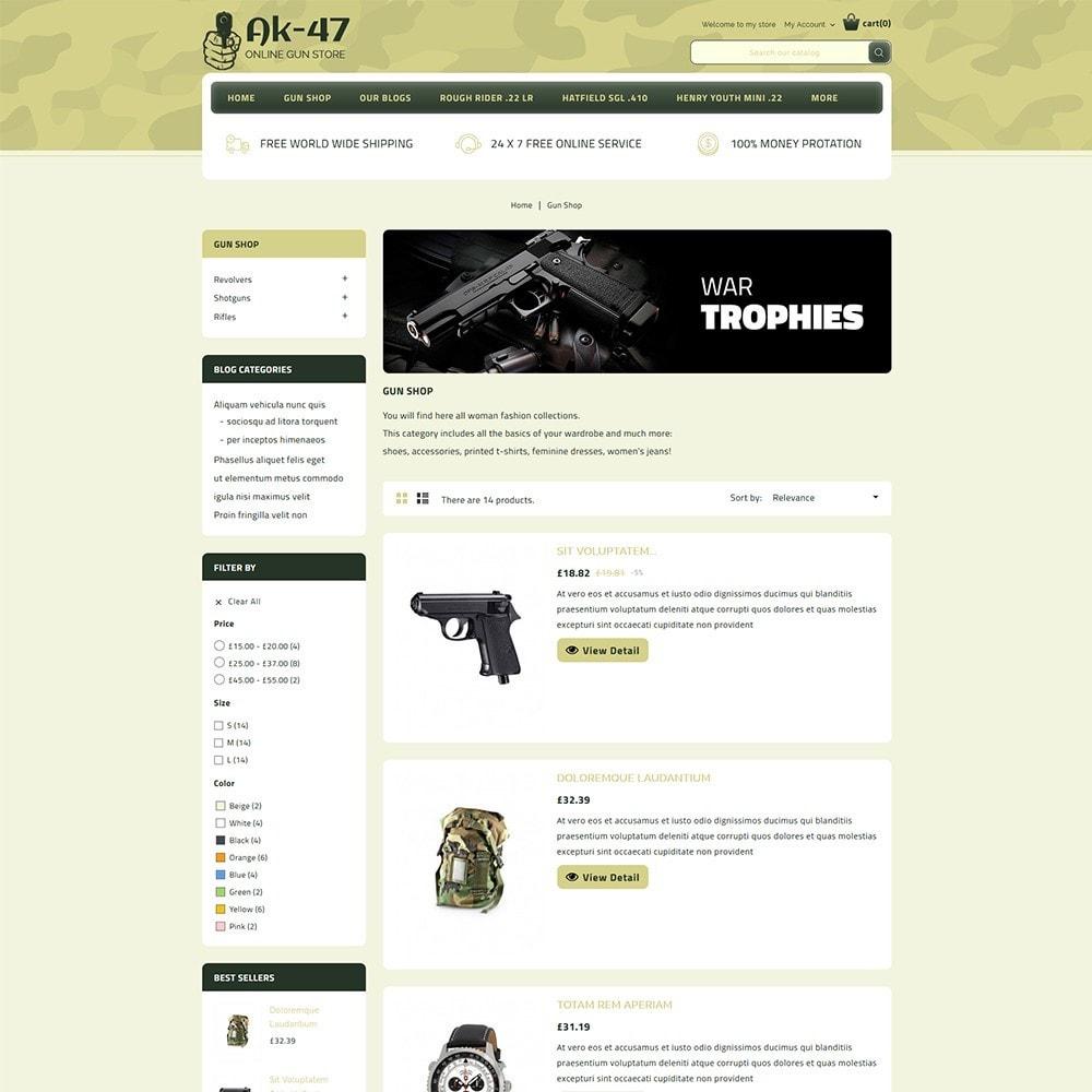 theme - Авто и Мото - AK47 Gun & Tools Store - 5