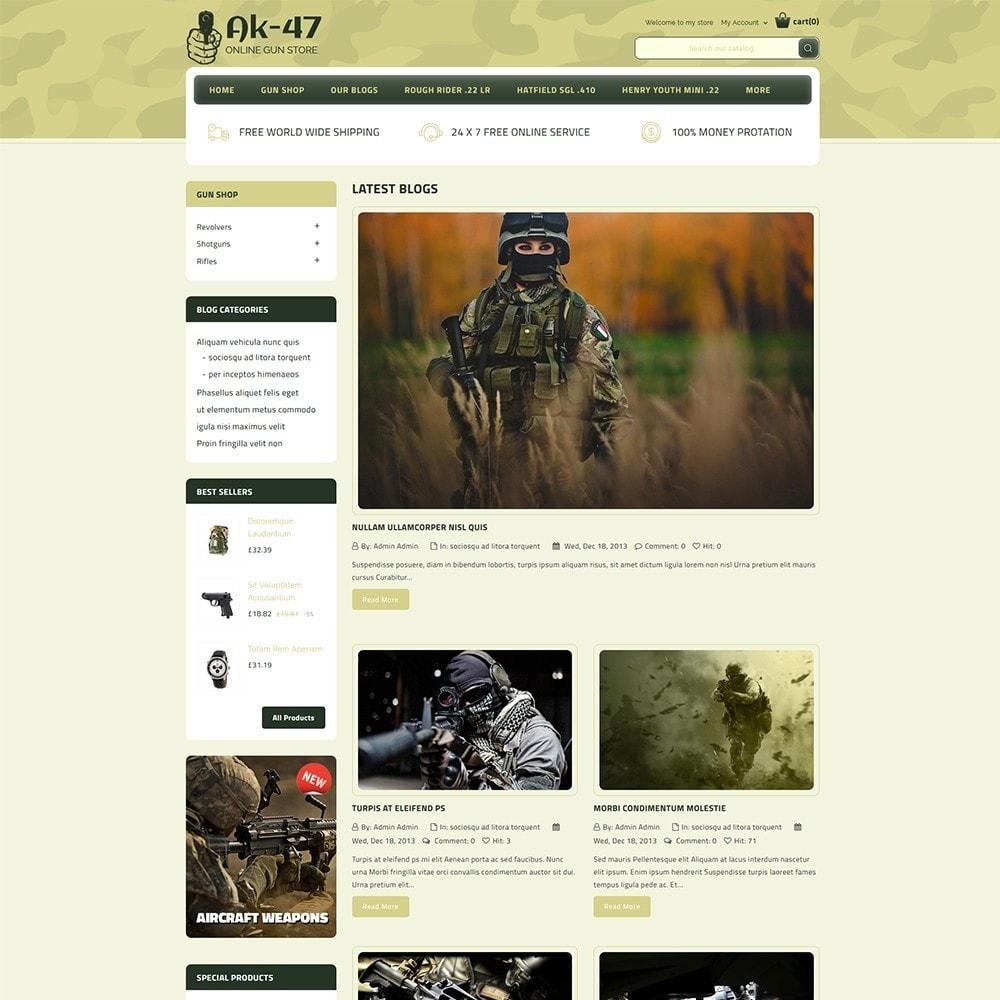 theme - Carros & Motos - AK47 Gun & Tools Store - 6