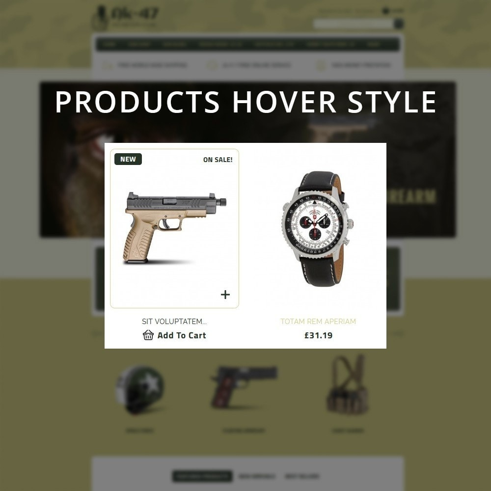 theme - Carros & Motos - AK47 Gun & Tools Store - 8