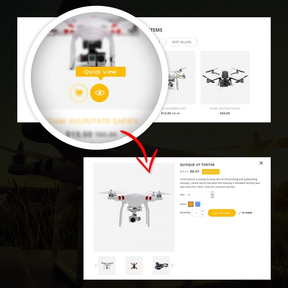 theme - Elettronica & High Tech - Drone - Online Store - 8
