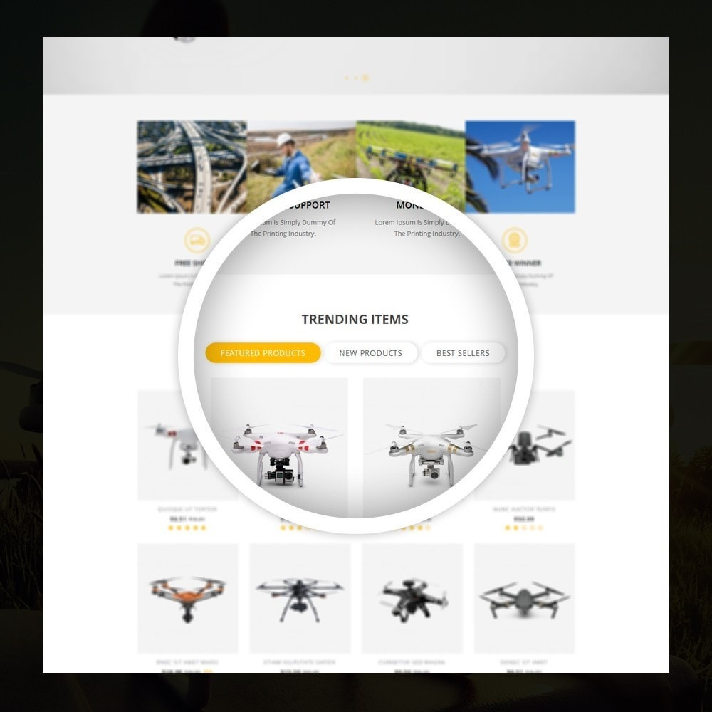 theme - Elektronika & High Tech - Drone - Online Store - 9
