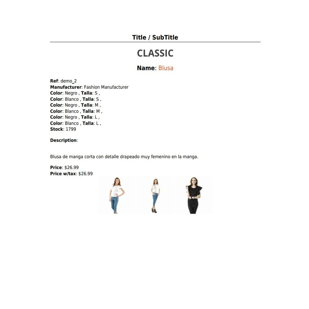 module - Data Import & Export - RSI PDF/HTML catalog  evolution - 7