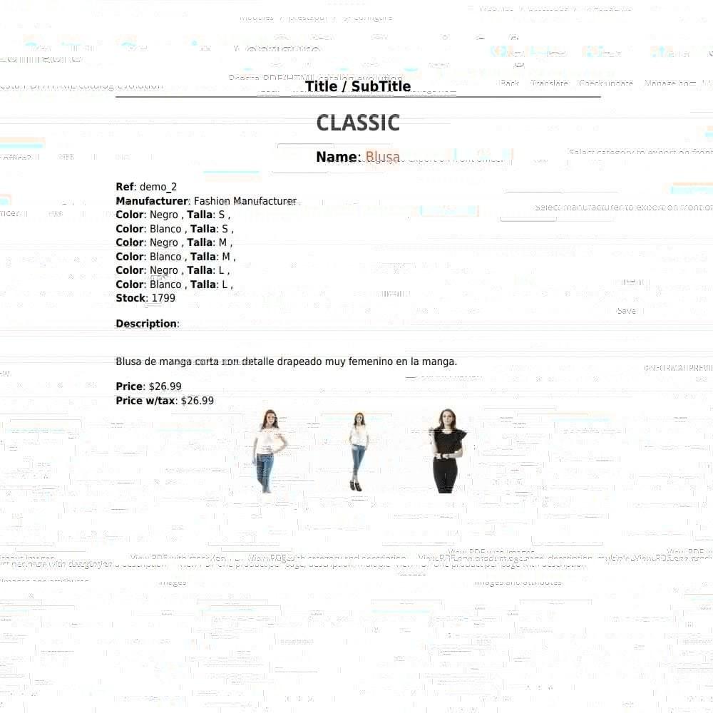 module - Importación y Exportación de datos - RSI PDF/HTML catalog  evolution - 6