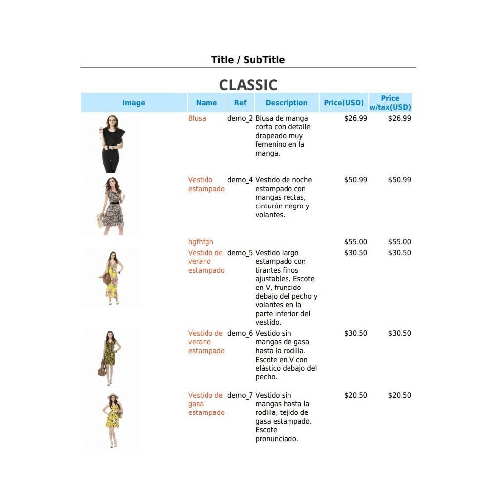 module - Importación y Exportación de datos - RSI PDF/HTML catalog  evolution - 8