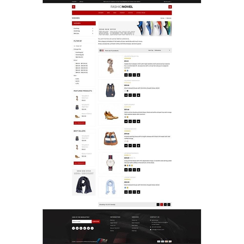 theme - Fashion & Shoes - Fashionovel Store - 4