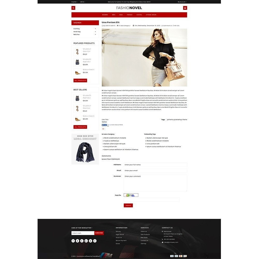 theme - Mode & Chaussures - Fashionovel Store - 6