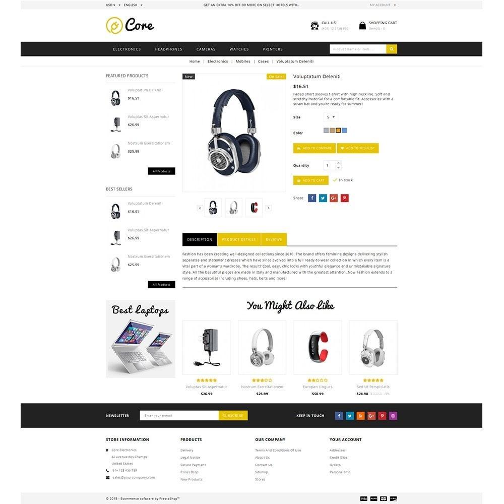 theme - Электроника и компьютеры - Core Electronics Store - 5