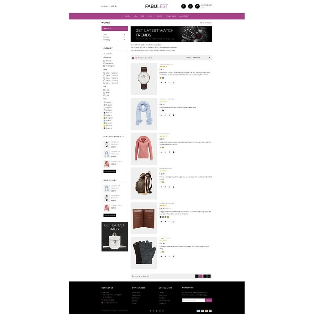 theme - Mode & Schuhe - Fabulest Store - 4