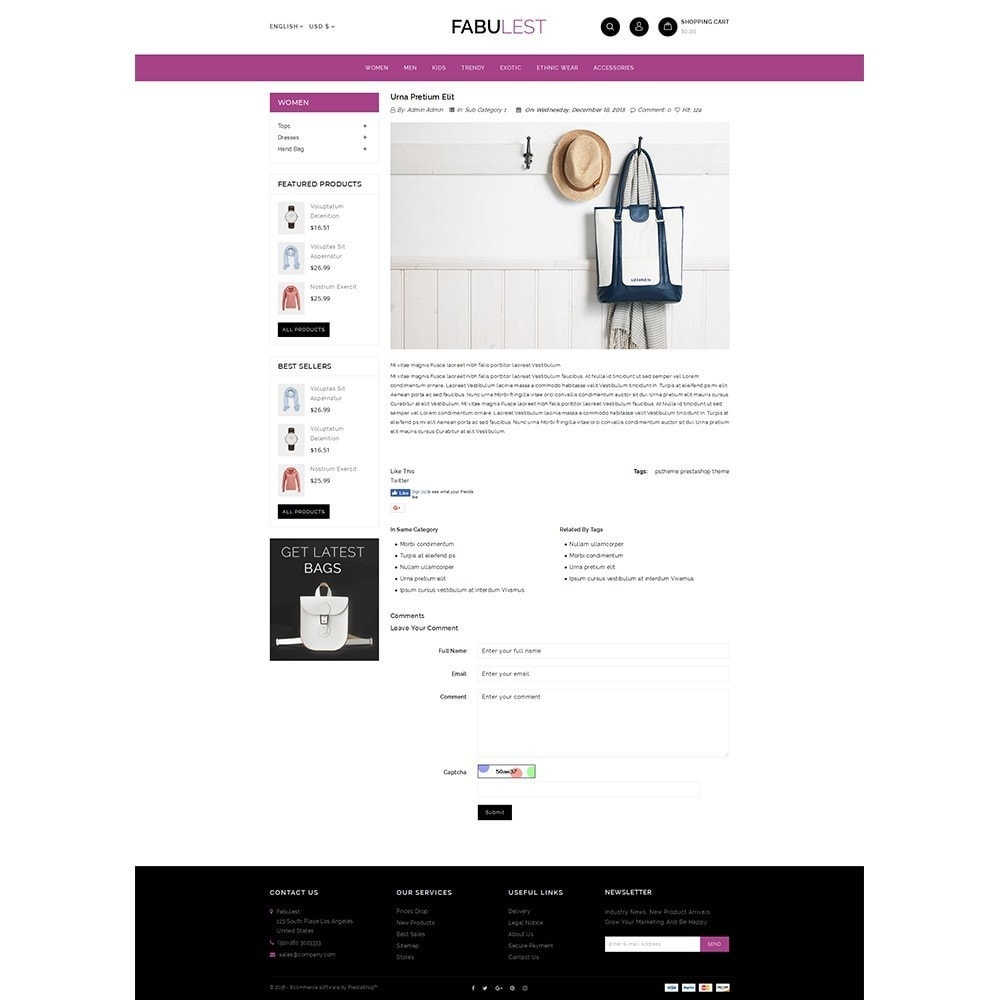 theme - Mode & Chaussures - Fabulest Store - 6