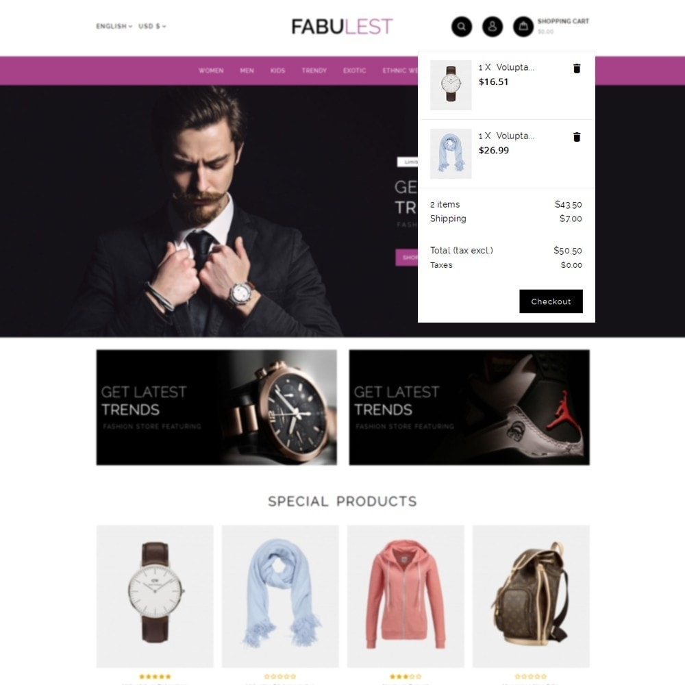 theme - Mode & Chaussures - Fabulest Store - 8