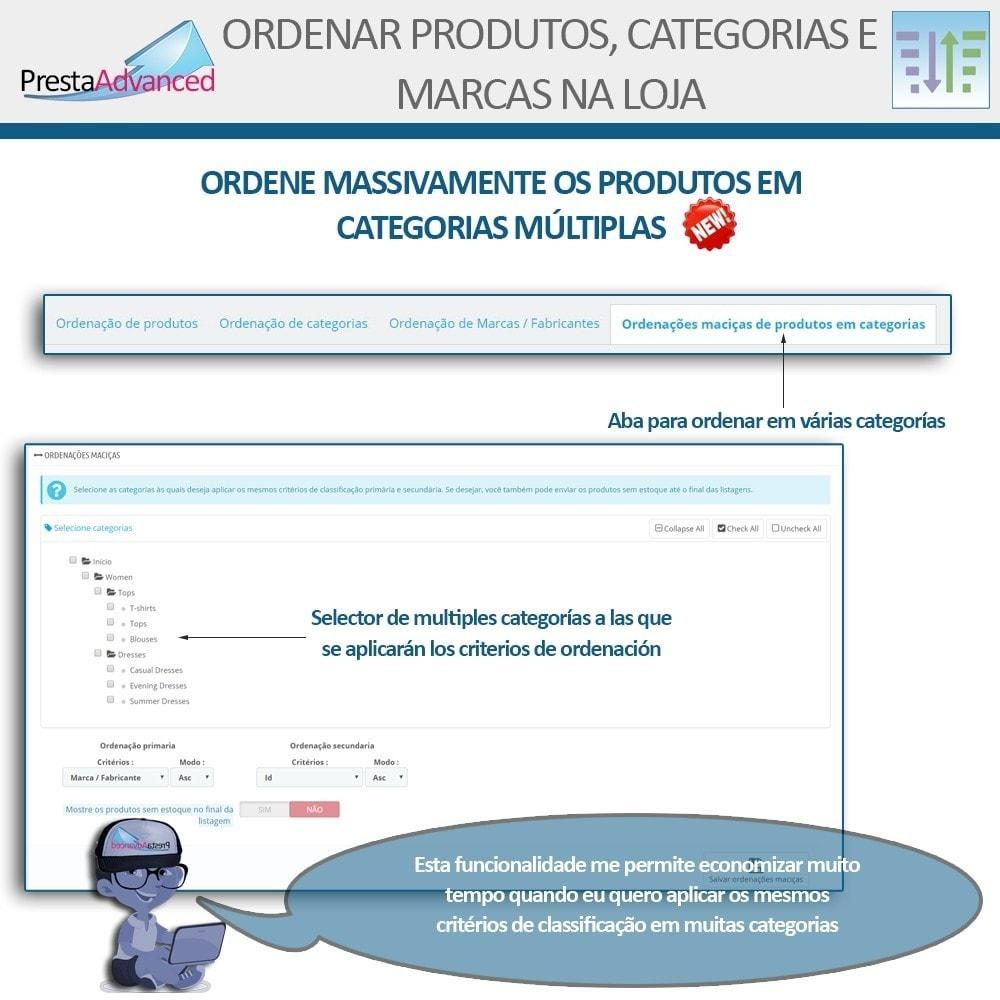 module - Personalização de página - Ordenar produtos, categorias e marcas na loja - 9
