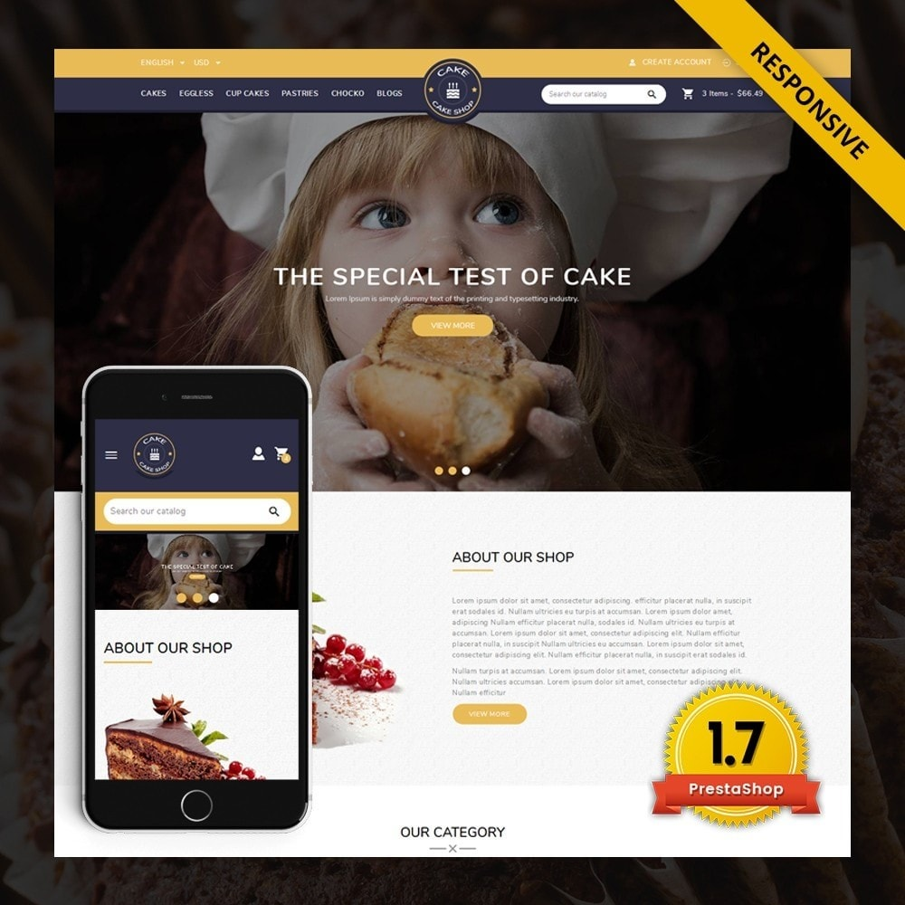 theme - Gifts, Flowers & Celebrations - Cake Shop - Bakery store - 1