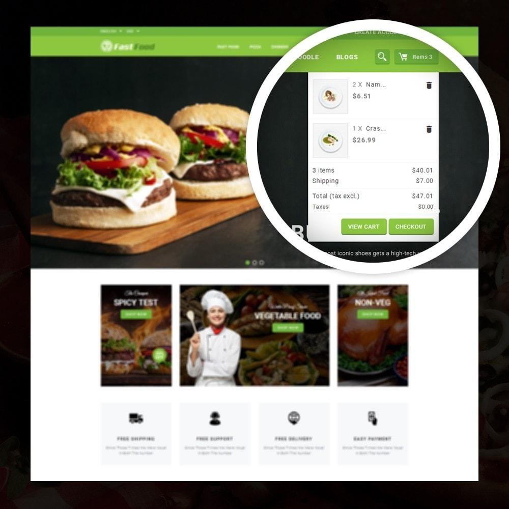 theme - Alimentation & Restauration - FastFood - Food Store - 6