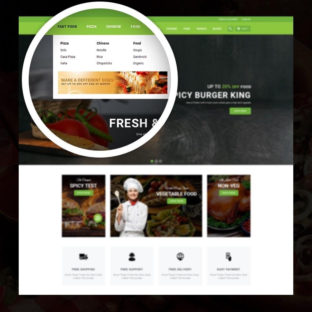 theme - Żywność & Restauracje - FastFood - Food Store - 7