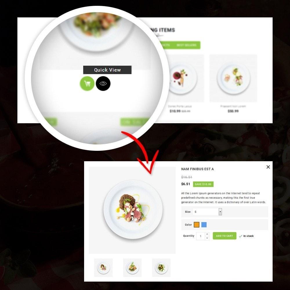 theme - Żywność & Restauracje - FastFood - Food Store - 8