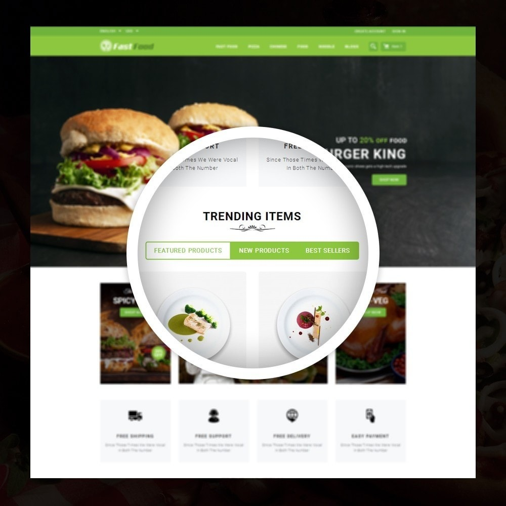theme - Alimentation & Restauration - FastFood - Food Store - 9
