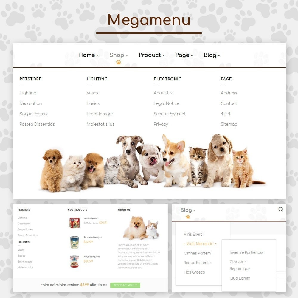 theme - Animales y Mascotas - Pet Store - 9