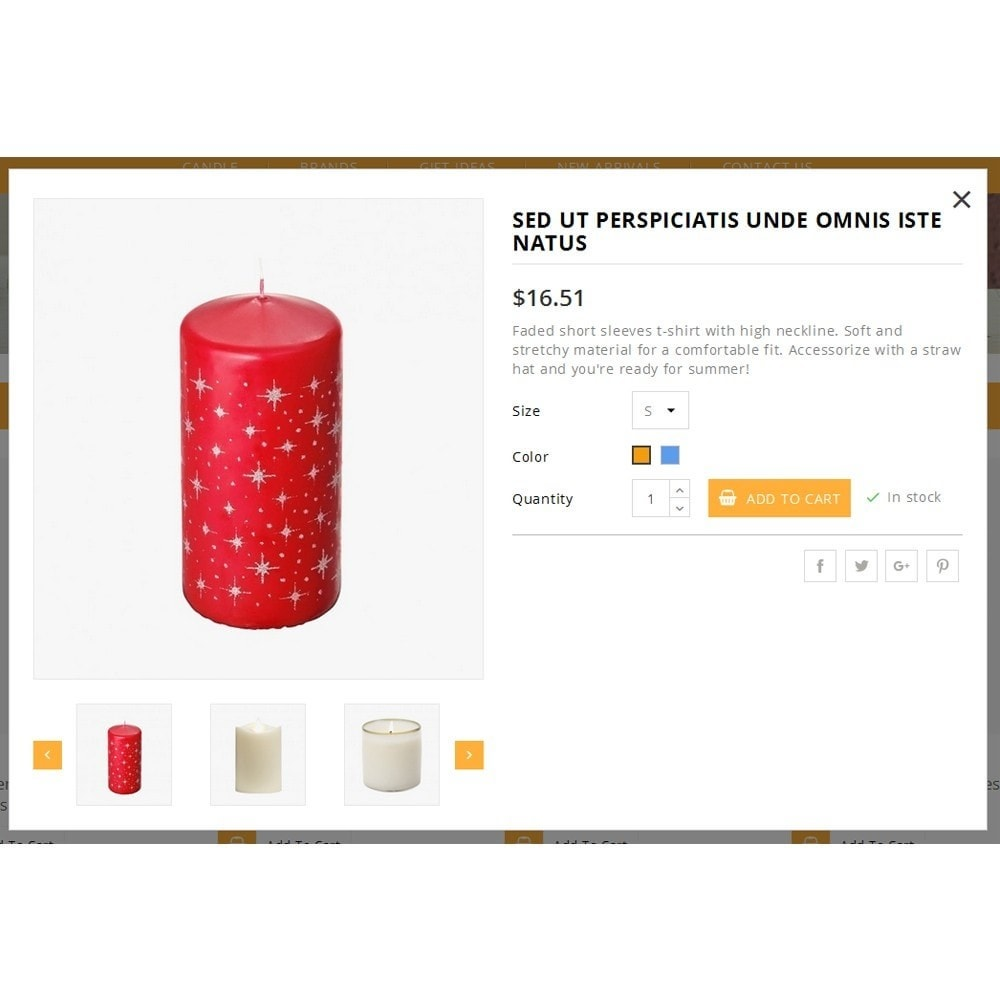 theme - Подарки, Цветы и праздничные товары - Bright Candle Store - 7
